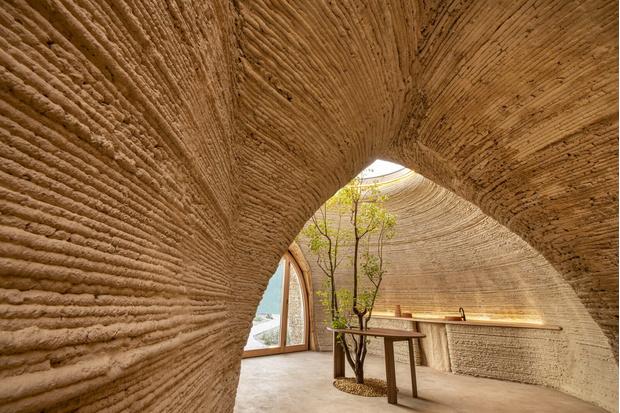 Фото №2 - Tecla: дом из глины, напечатанный на 3D принтере
