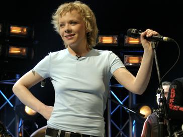 Елена Перова во время концерта