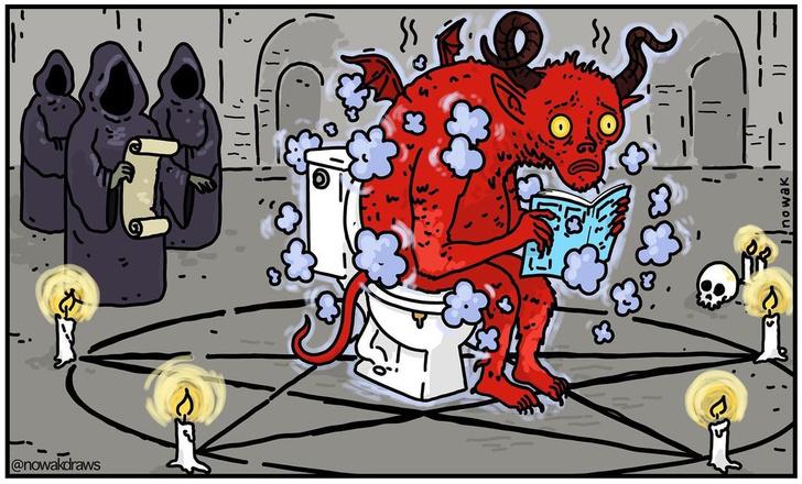 Фото №1 - Задушевные карикатуры со вкусом черного юмора от Джозефа Новака
