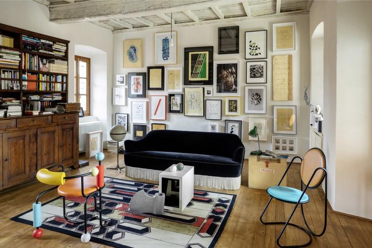Фото №5 - Дом художника: арт-вилла в Италии