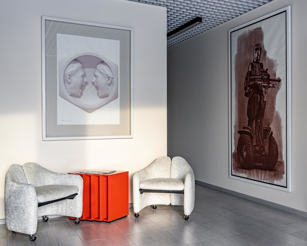 Фото №2 - Рабочее пространство как арт-галерея: офис в Москва-Сити