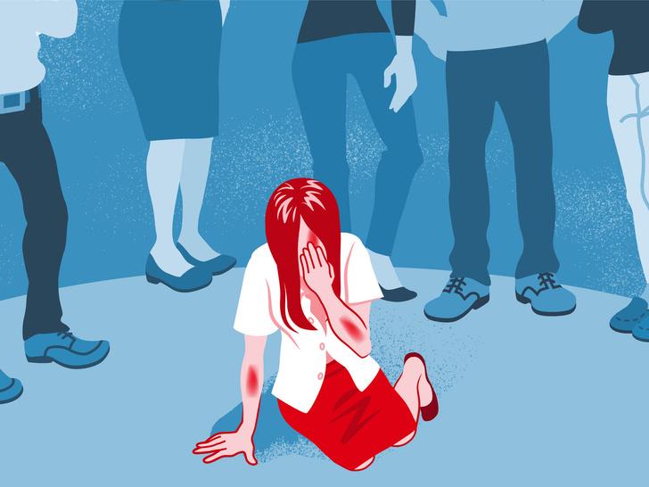 Фото №1 - «Сама виновата»: почему люди обвиняют жертву и оправдывают насильника