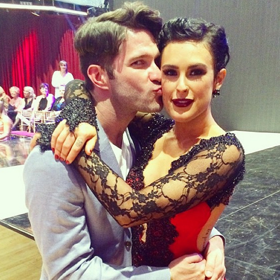 Дочь Деми Мур Румер Уиллис в Танцы со звездами, видео