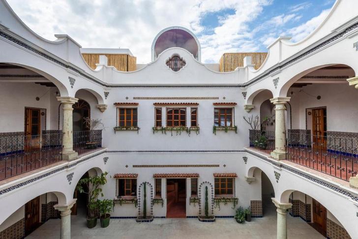 Фото №1 - Отель в здании XVI века в Мексике