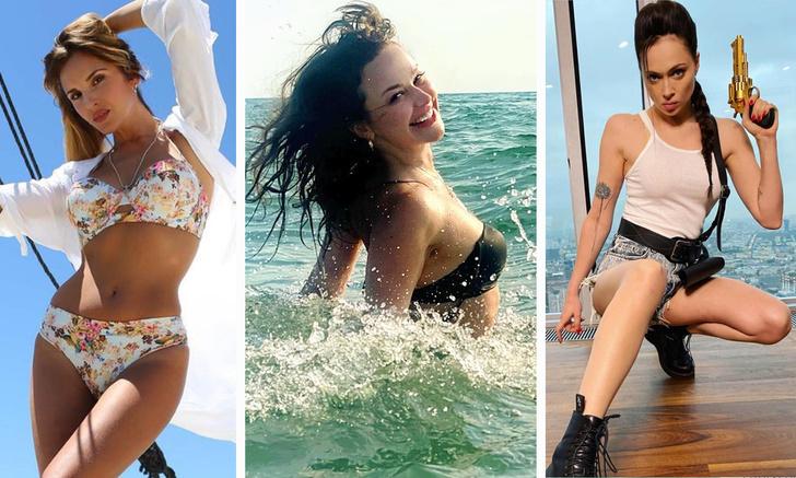 Фото №1 - Вестник «100 самых сексуальных женщин страны»: русалка Мария Берсенева, декольте Елены Подкаминской на лоне сенокоса