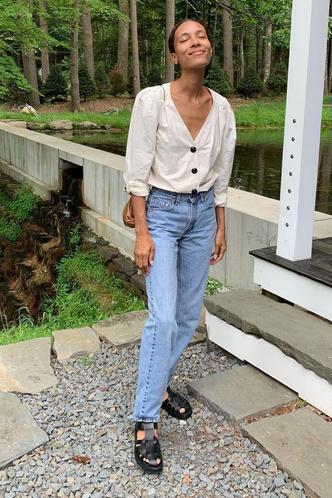Фото №4 - «Рыбацкие» сандалии: как носить самый спорный тренд года