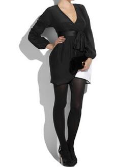 Фото №6 - Стильные платья осени-2009
