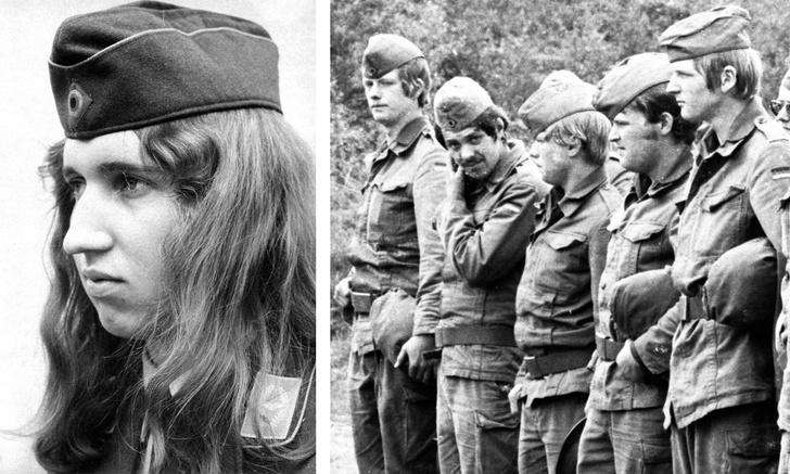 Фото №1 - Откуда в армии Бундесвера пошла мода на длинные волосы