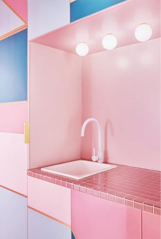 Фото №7 - Розовая квартира в центре Мадрида