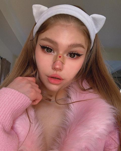 E-girl макияж стиль поэтапно, макияж е герл пошагово, e girl style makeup 2020
