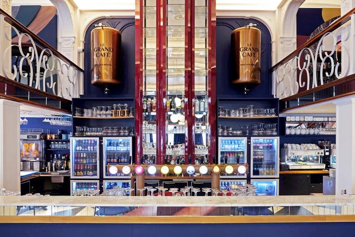 Фото №11 - Новый облик легендарного кафе Le Grand Café в Брюсселе