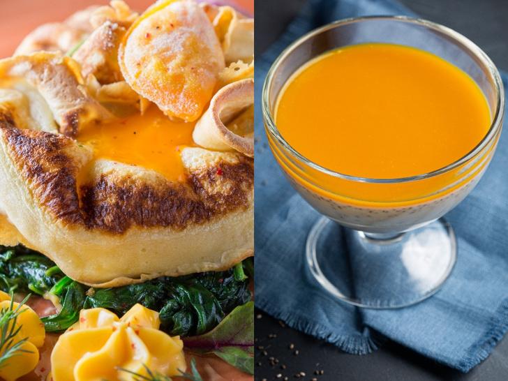Фото №1 - Морковный пирог, блинный мешочек и кокосовый пудинг: лучшие осенние рецепты от шеф-повара CulinaryOn