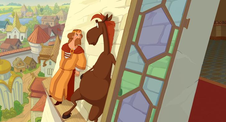 Фото №4 - На экраны выходит мультфильм «Три богатыря. Ход конем»