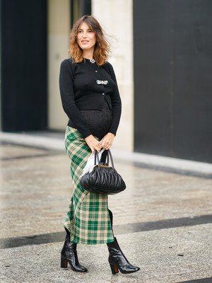 Фото №15 - Как одеваться стильно во время беременности: 9 советов для будущих мам