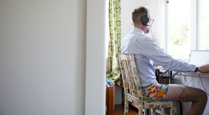 Работа из дома: новая деловая этика