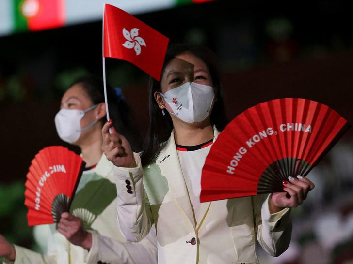 Фото №11 - Как прошло открытие Олимпиады в Токио: самые яркие кадры
