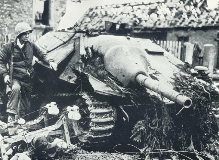Фото №7 - Маленький гигант большого фронта. История немецкой самоходки «Хетцер»