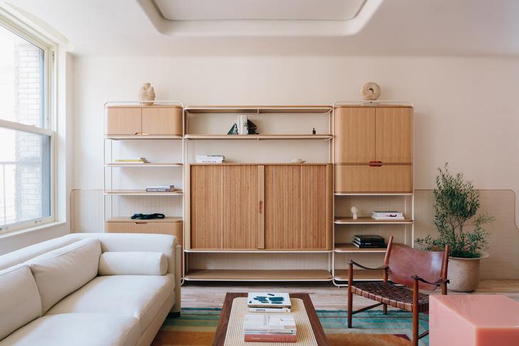 Фото №1 - Квартира с винтажными акцентами в Нью-Йорке