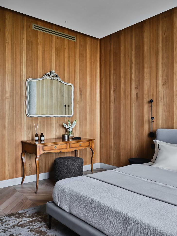 Фото №17 - «Манхэттенская» квартира с винтажной мебелью 136 м²
