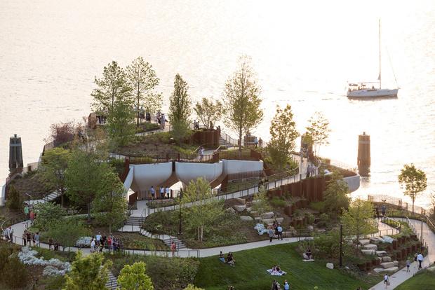 Фото №6 - Парк Little Island в Нью-Йорке по проекту Томаса Хезервика