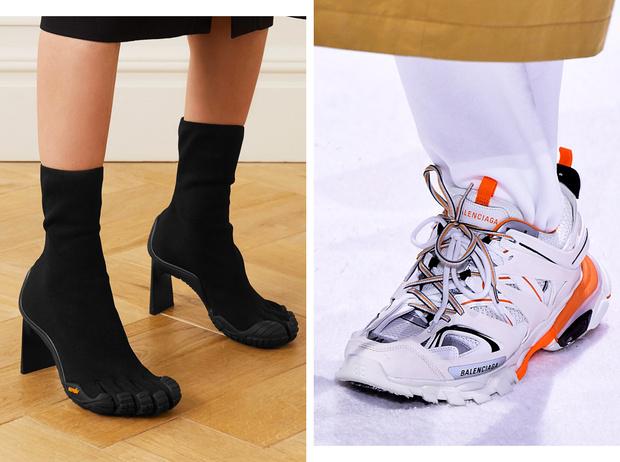 Фото №1 - От кроксов до «копыт»: почему дизайнеры одержимы уродливой обувью
