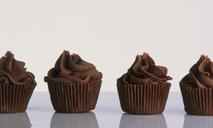 Вкусные шоколадные капкейки по простому рецепту