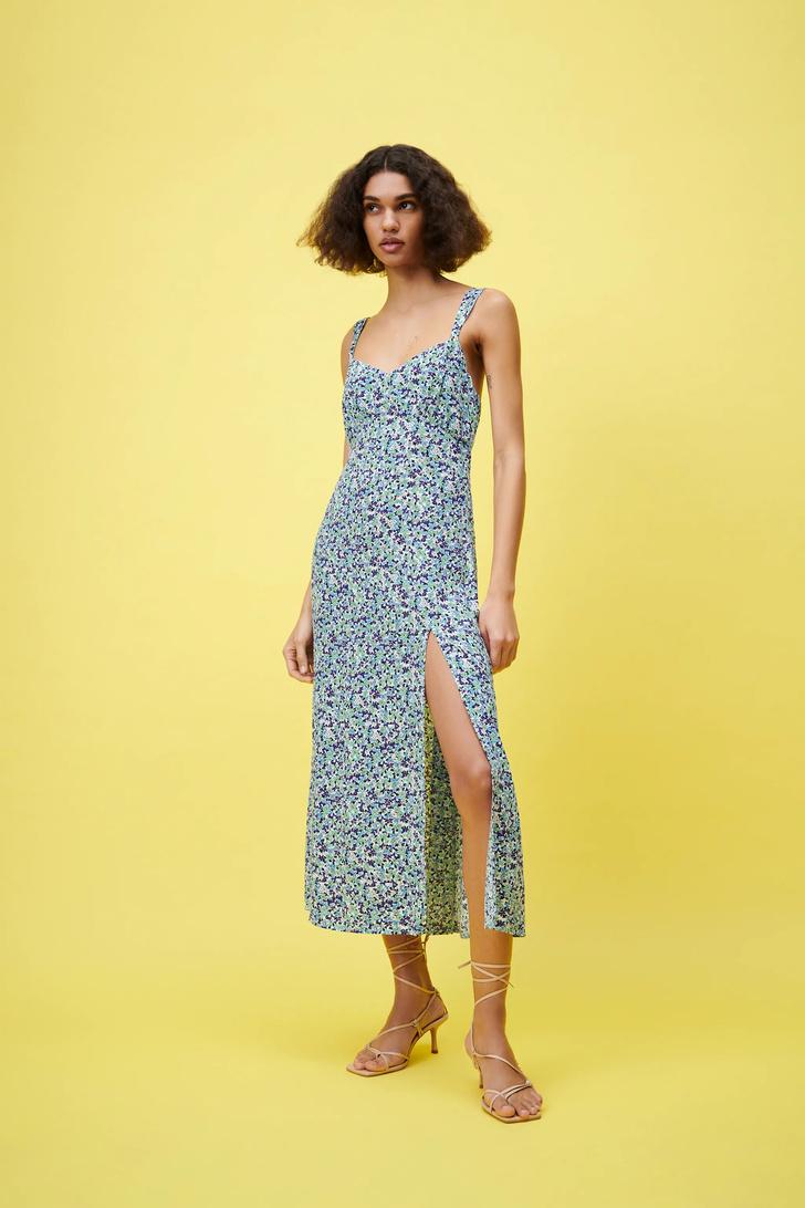 Фото №20 - Летом всем нам нужно платье в цветочек. Вот 20 нежных вариантов