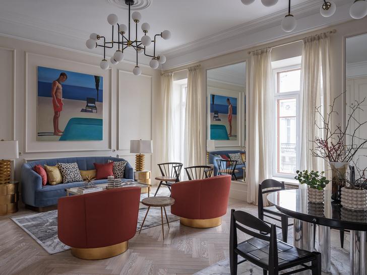 Фото №2 - Квартира в классическом стиле в центре Москвы