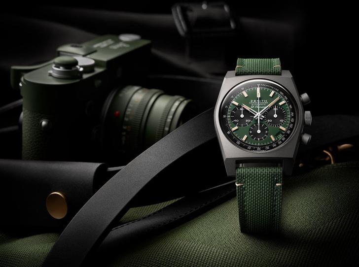 Фото №1 - Сильным личностям: Zenith выпустил новые часы в стиле сафари