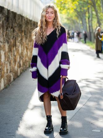 Фото №2 - Осенняя униформа: как выбрать идеальное трикотажное платье