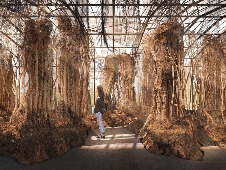 Фото №3 - Бумажная оранжерея: что нужно знать об инсталляции Евы Жоспин, победившей в конкурсе Max Mara