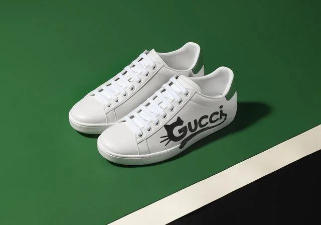 Фото №2 - Gucci представили первые кроссовки, сделанные из деметры. И теперь о них мечтает весь мир