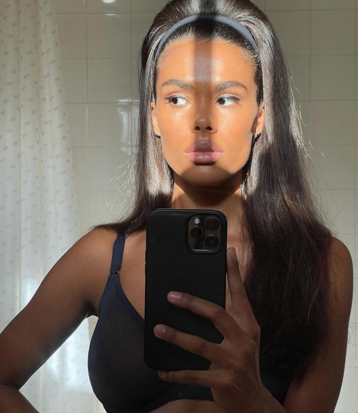 Фото №1 - Все к лицу: Тина Кунаки с прямыми волосами и начесом