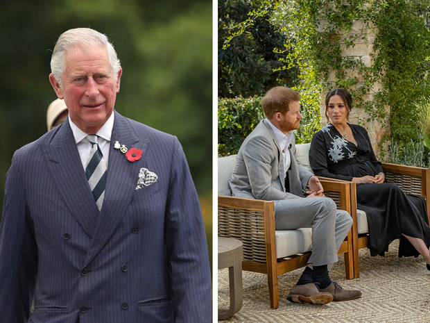Фото №1 - Что больше всего расстроило принца Чарльза в интервью Гарри и Меган