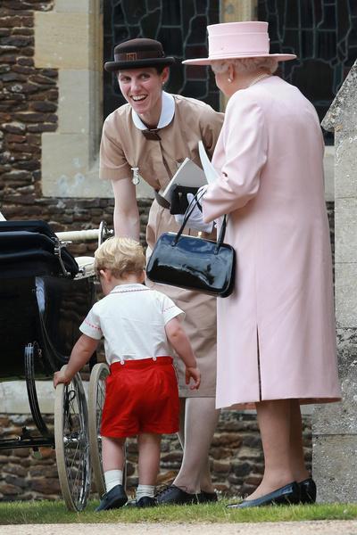 Мария Борралло, няня детей Кейт Миддлтон и принца Уильяма, фото