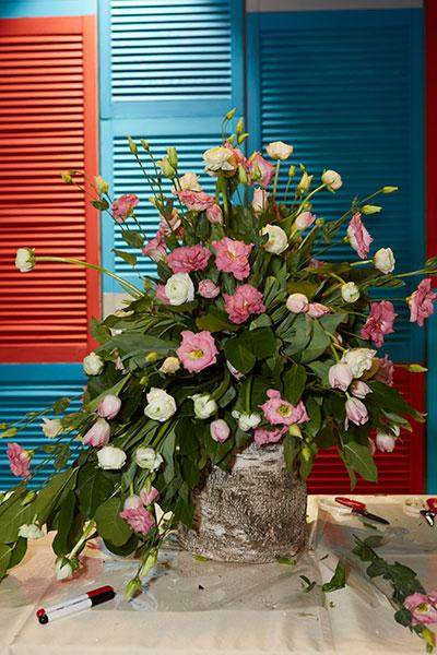 Фото №3 - В Costa La Familia прошел флористический мастер-класс