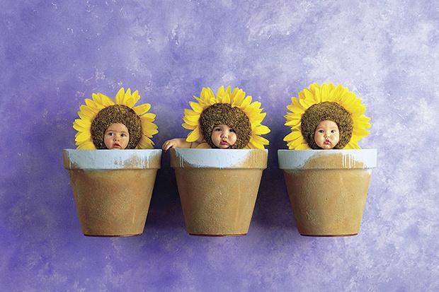 """Фото №2 - Мастер-класс от Анне Геддес: """"Как фотографировать младенцев"""""""