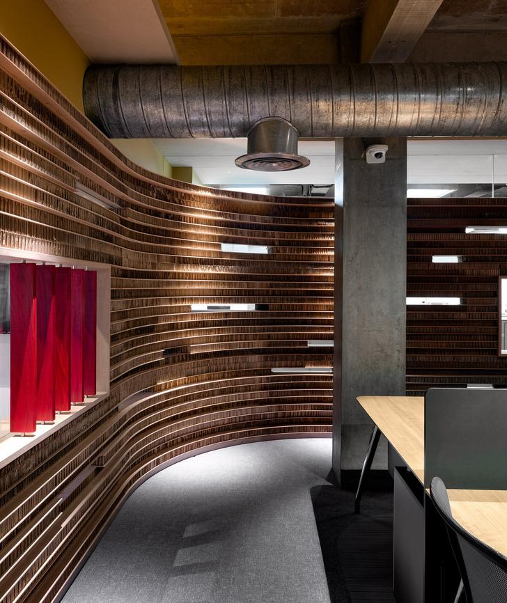 Фото №4 - Офис с картонными перегородками в Индии