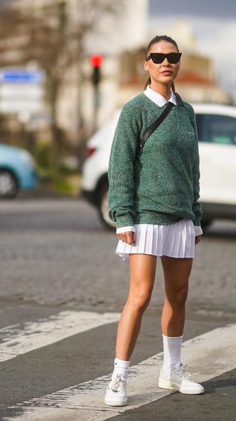 Фото №3 - Самые модные юбки на осень, которые не стыдно носить в школу