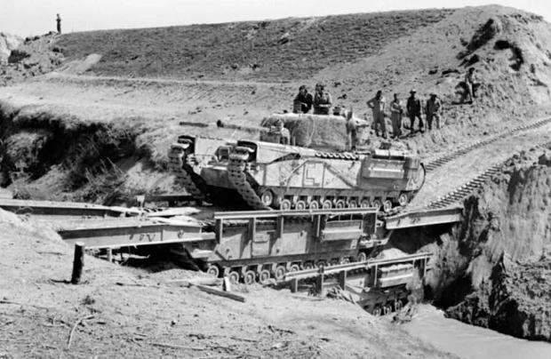 Фото №4 - «Они утонули…»: чудо-танки союзников для высадки в Нормандии