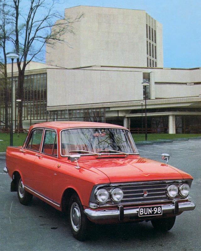 Фото №5 - Советские полуфабрикаты: как автомобили из СССР дорабатывали для зарубежного покупателя