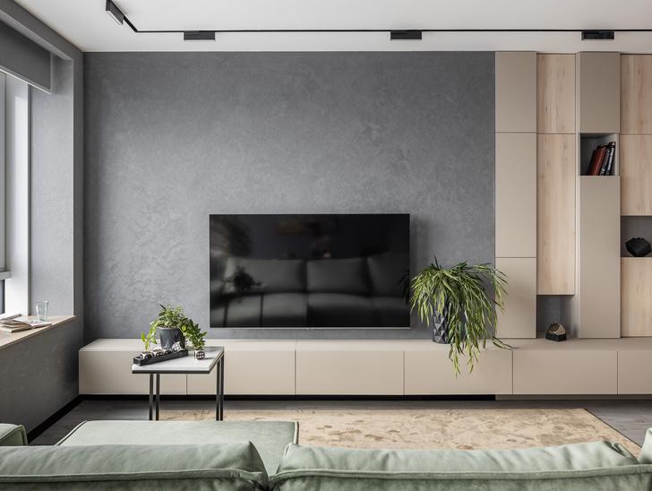 Фото №5 - Графика и минимализм: квартира для студента в Уфе 76 м²