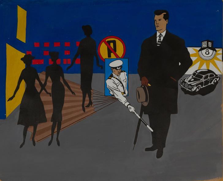Фото №1 - «Инженеры искусства»: петербургский андеграунд в галерее ГУМ-Red-Line