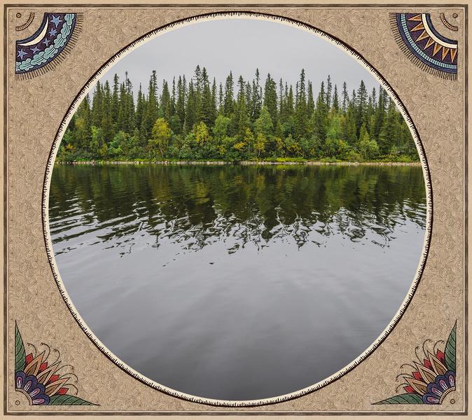 Фото №6 - Великан Куйва, белые лебеди и «танцующие» деревья: кто охраняет многовековые тайны Сейдозера