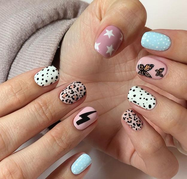 Фото №3 - Маникюр с бабочками— самый креативный и стильный бьюти-тренд этой осени из Инстаграма 🦋