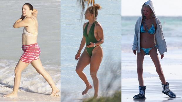 Неспортивные звезды с плохой фигурой и лишним весом