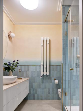 Фото №13 - Трехкомнатная квартира в оттенках синего цвета