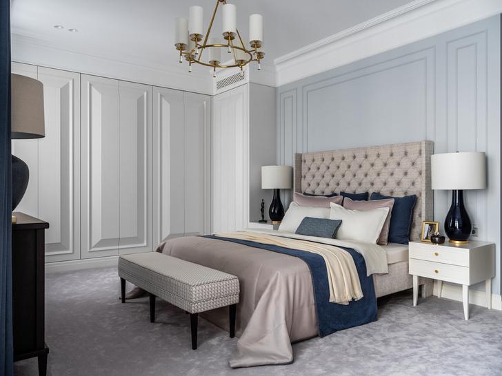 Фото №7 - Московская квартира 182 м² в стиле американской классики
