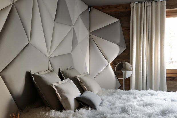 Фото №13 - Дизайнерское шале со стеклянной лестницей в Межеве