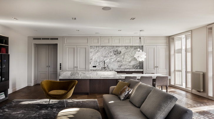 Фото №1 - Квартира во французском стиле для молодой семьи